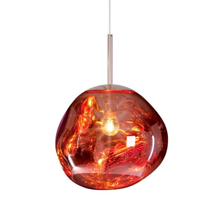 Tom Dixon Mini Melt Ceiling Pendant Light - Copper