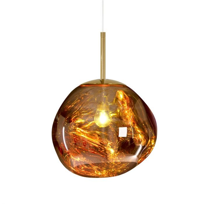 Tom Dixon Mini Melt Ceiling Pendant Light - Polished Gold