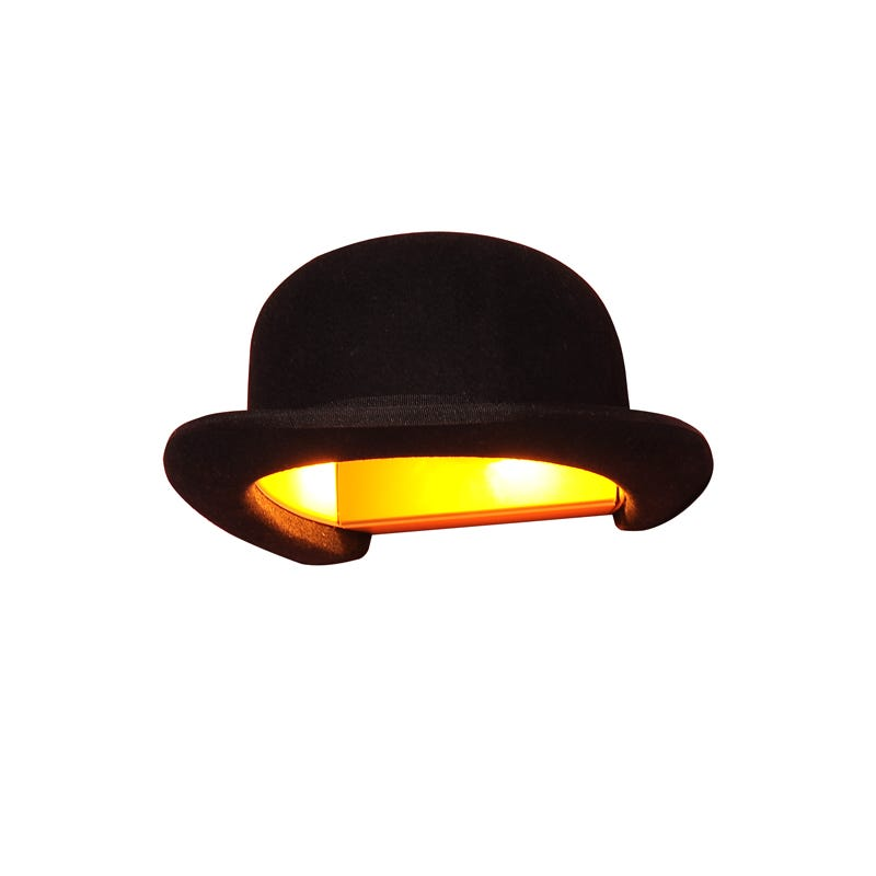 Innermost Jeeves Bowler Hat Wall Light