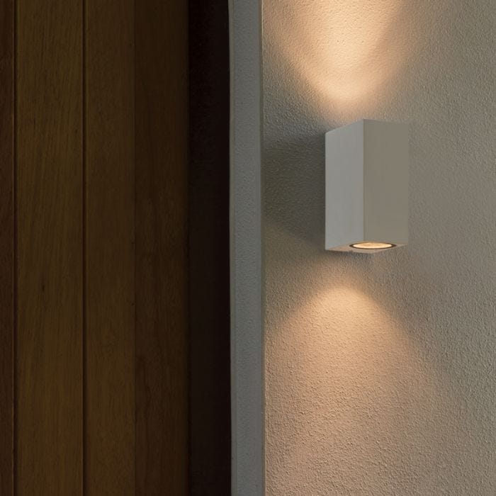 Astro Chios 150 Outdoor Twin Wall Light – White