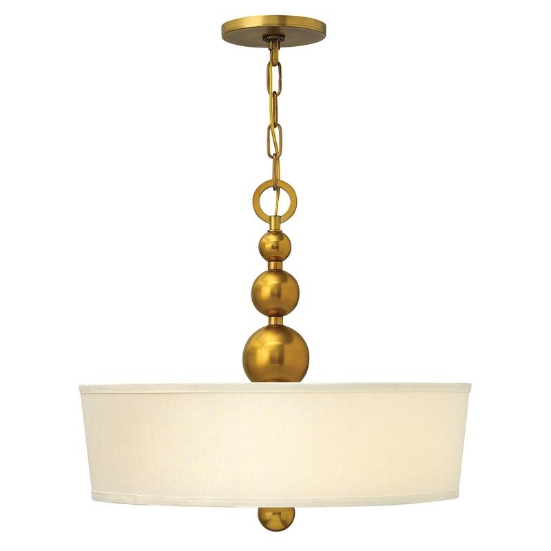 Hinkley Zelda 3 Light Ceiling Pendant Light