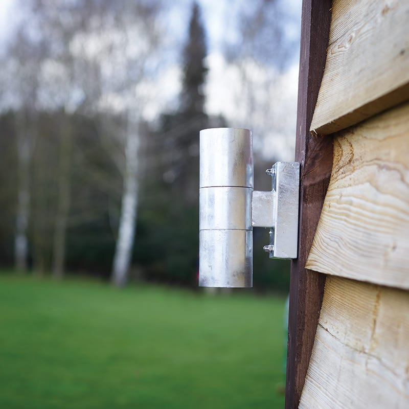 Nordlux Castor Twin Outdoor Wall Light