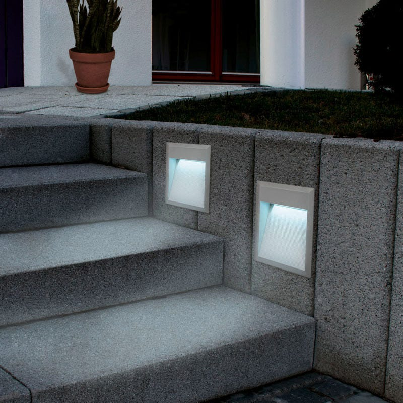 Eglo Zimba LED Outdoor Wall Light - Rectangle