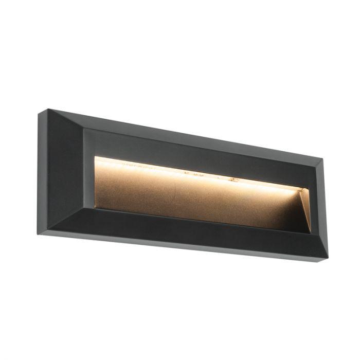 Endon Severus Warm White LED Outdoor Wall Light - Horizontal