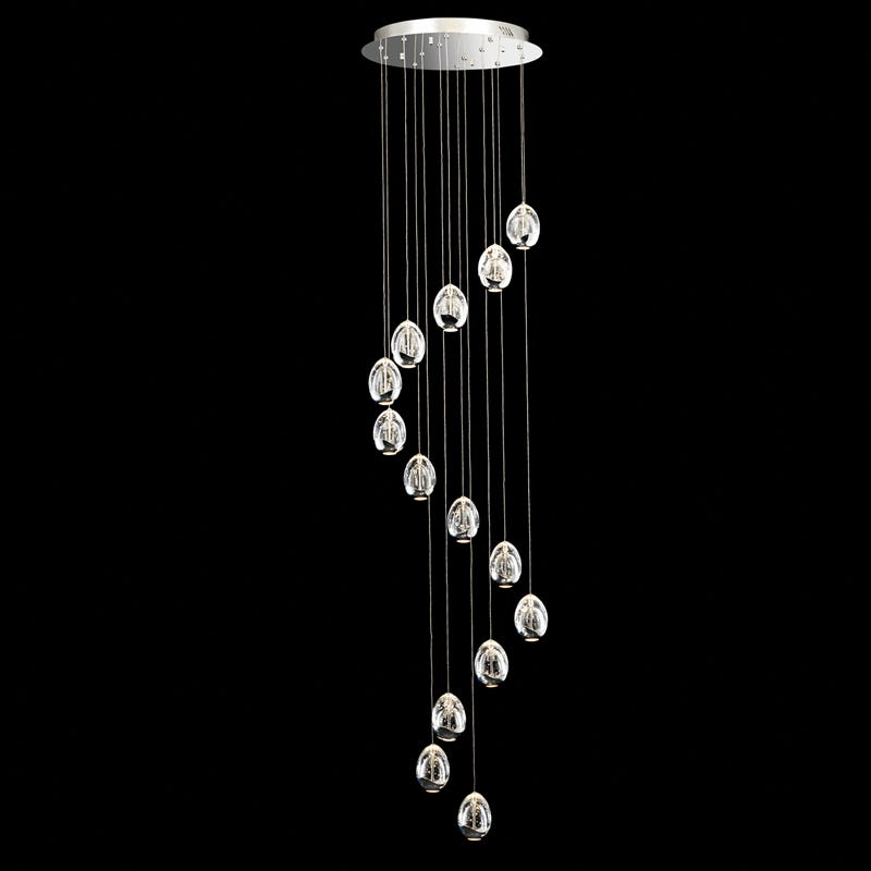 Illuminati terrene 14 light led cascade ceiling pendant polished illuminati terrene 14 light led cascade ceiling pendant polished chrome lighting direct aloadofball Choice Image
