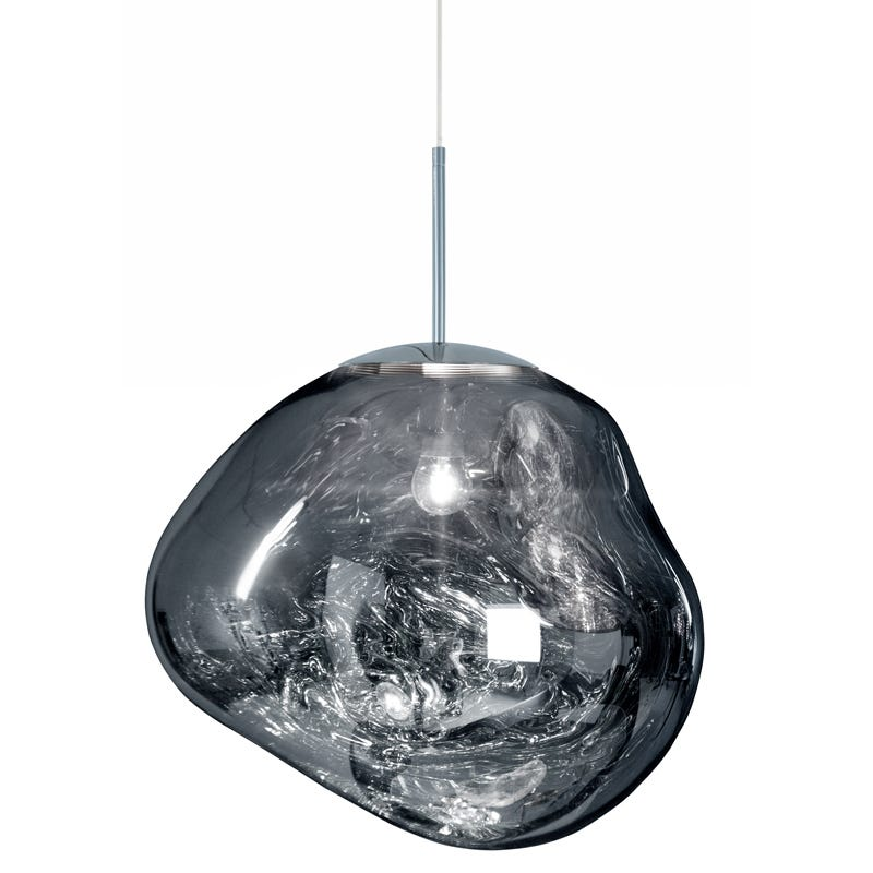 Tom Dixon Melt Ceiling Pendant Light - Chrome