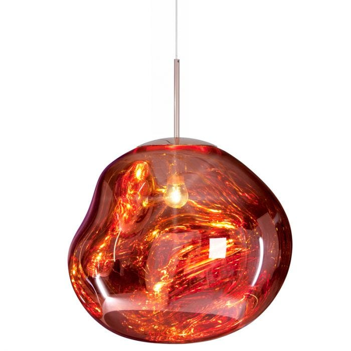 Tom Dixon Melt Ceiling Pendant Light - Copper