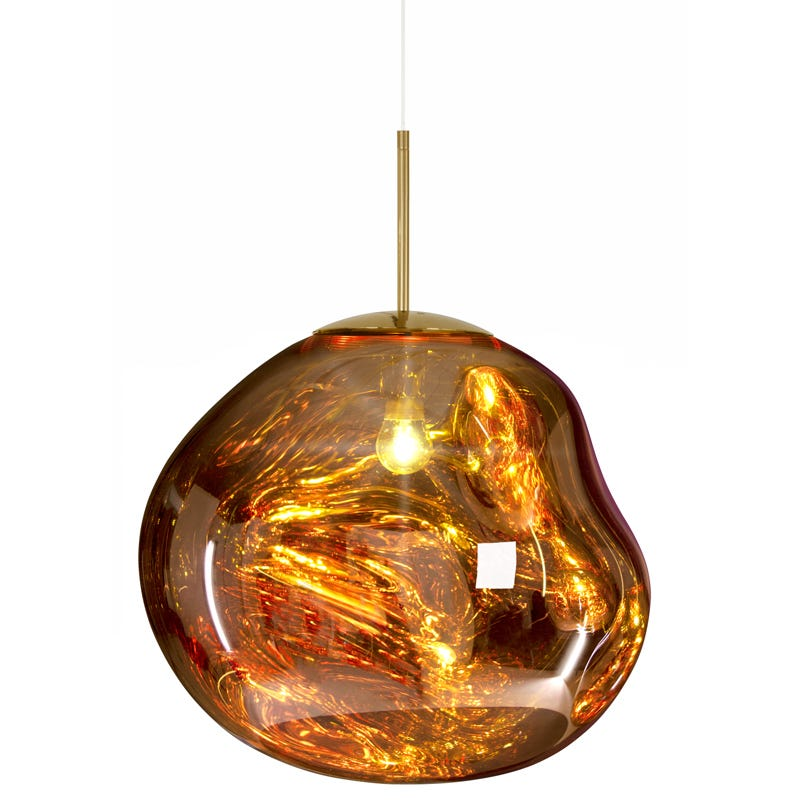 Tom Dixon Melt Ceiling Pendant Light - Gold