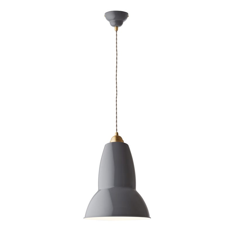 Anglepoise Original 1227 Brass Ceiling Pendant Light  Maxi
