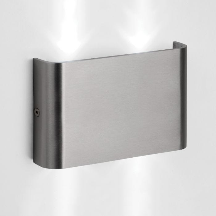 Lucide Nimo LED Outdoor Wall Light  Aluminium