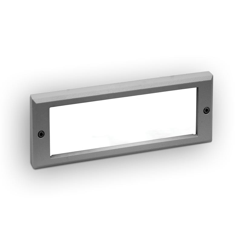 Lutec Victoria LED Outdoor Brick Light - Grey
