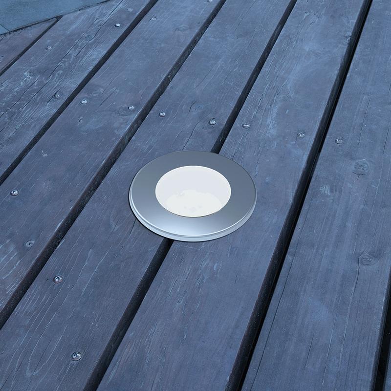 Lutec SunConnec - Honey LED Solar Deck Light Kit - Set of 2