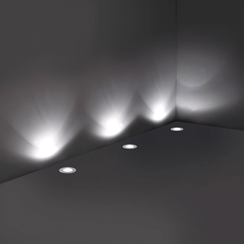 Park Deck Light - Satin Nickel