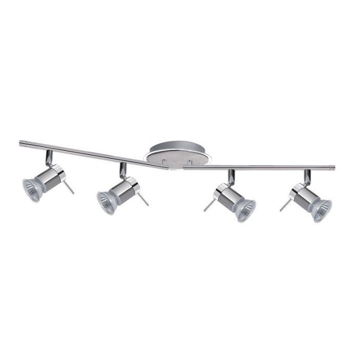 Searchlight Aries 4 Light LED Spotlight Bar - Polished