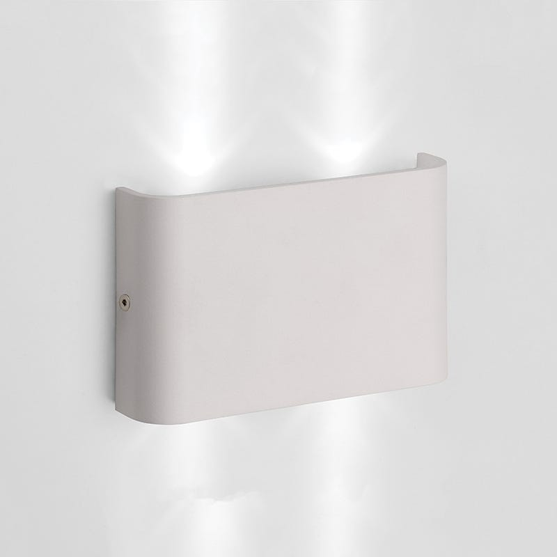 Lucide Nimo LED Outdoor Wall Light - Matt White
