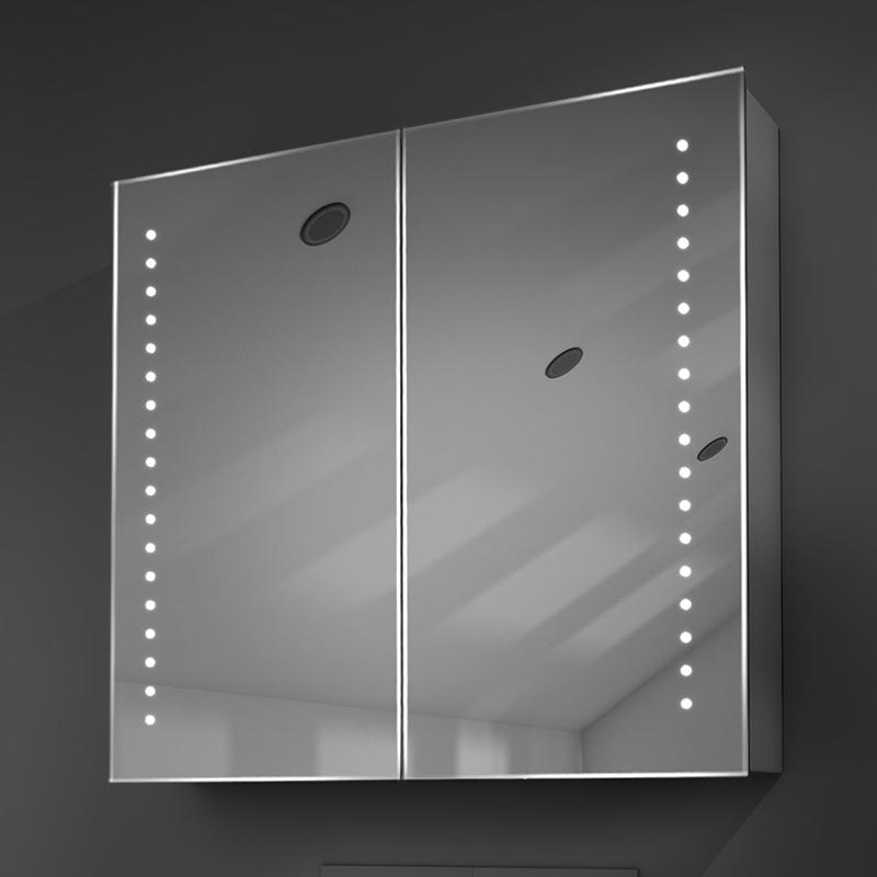 Diamond X Nellis LED Illuminated Mirror Cabinet