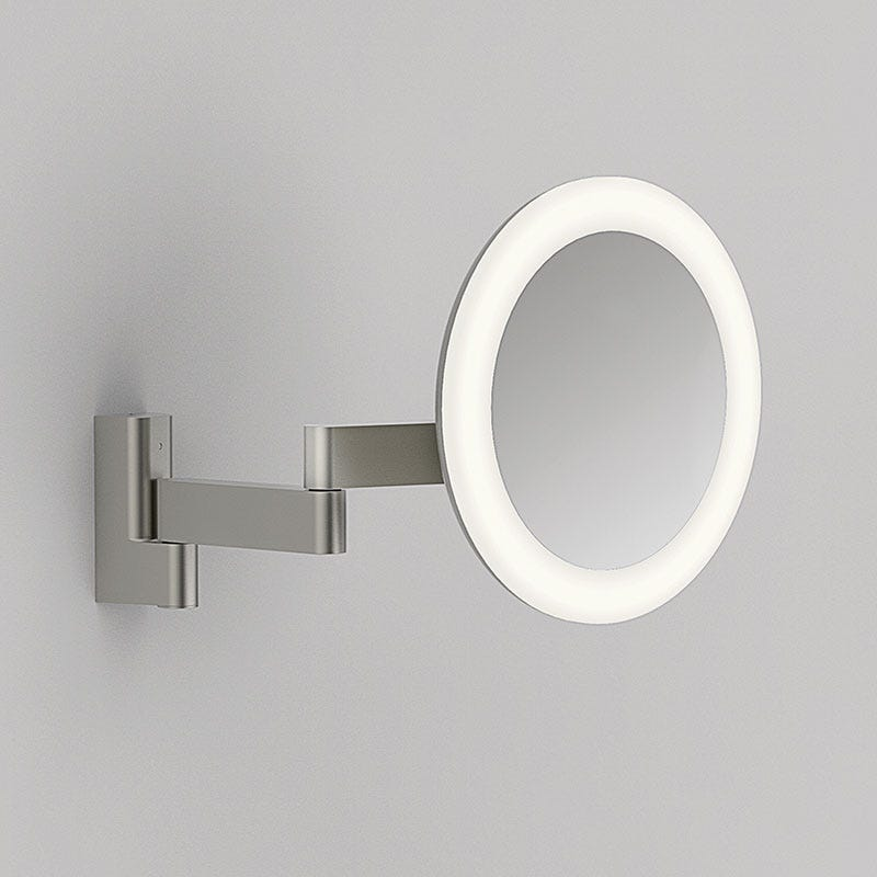 Astro Niimi LED Mirror Light - Matt Nickel