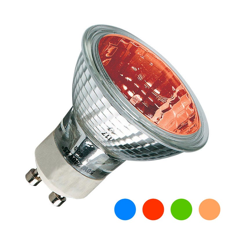 50w Colour Halogen Gu10s