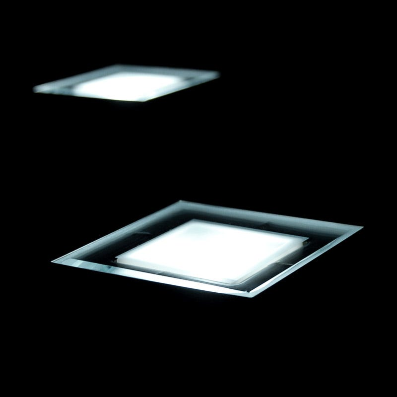 Solarcentre Solar LED Deck Light with Dusk to Dawn Sensor - Square