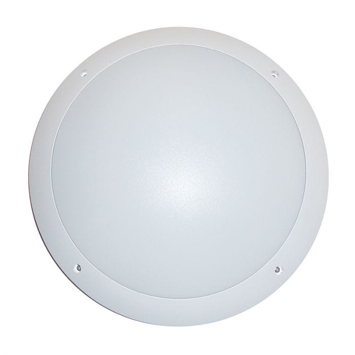 Eterna 12W LED Flush Light - White