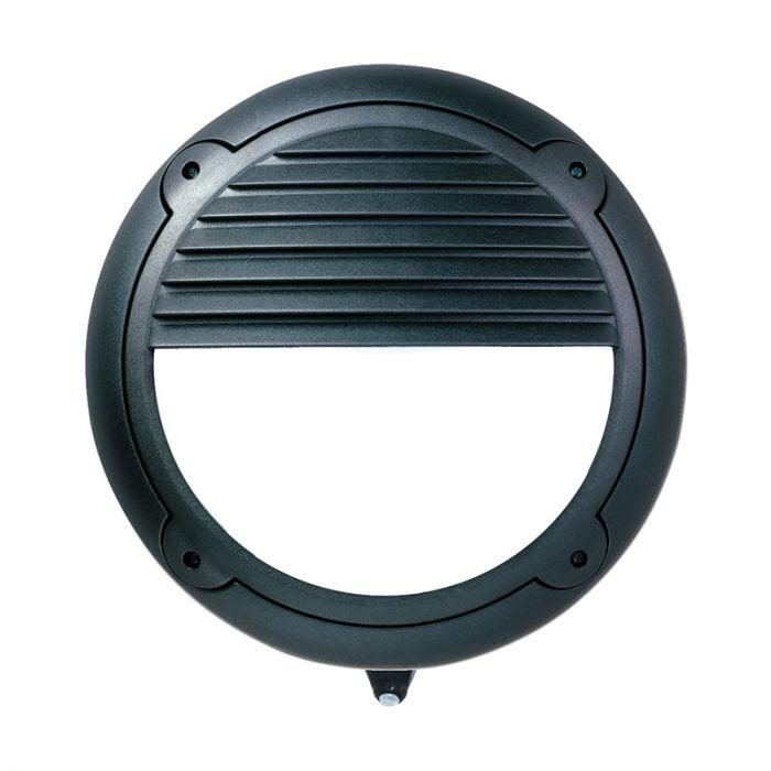 ASD Horizon Outdoor Hi-Lo LED Flush Light with PIR and Dusk to Dawn Sensor - Louvre