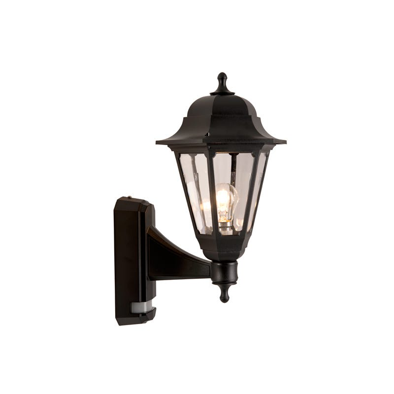 Asd Led Half Lantern Outdoor Wall Light With Pir Sensor