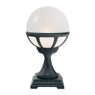 Elstead Bologna Pedestal Light - Black
