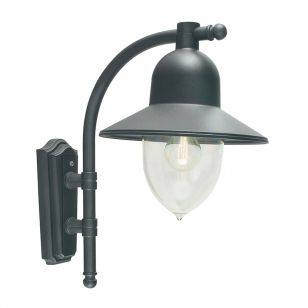Elstead Como Outdoor Wall Light - Black