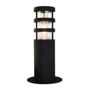 Elstead Hornbaek Pedestal Light - Black