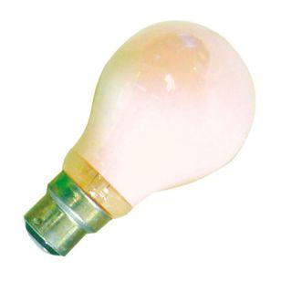 25W Coloured GLS Bulb - Bayonet - Pink