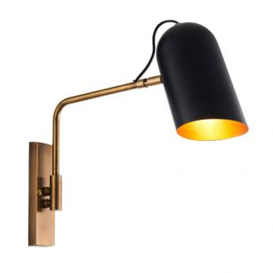 Endon Navren Wall Light - Brass