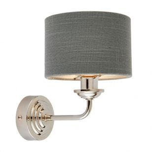 Endon Highclere Wall Light - Charcoal