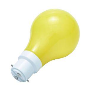 1W Yellow LED GLS Bulb - Bayonet Cap