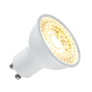 Integral 4.7W Warm White LED COB GU10 Bulb - Flood Beam