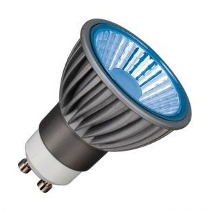 Deltech 6W Blue Dimmable LED GU10 Bulb - Medium Beam