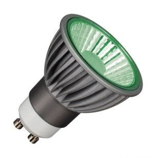 Deltech 6W Green Dimmable LED GU10 Bulb - Medium Beam