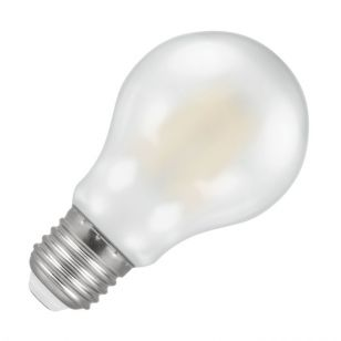 Crompton 7.5W Warm White Dimmable LED Decorative Filament Pearl GLS Bulb - Screw Cap