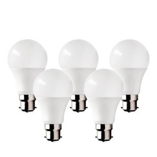Lyco 13W Warm White LED GLS Bulb - Bayonet Cap - Pack of 5