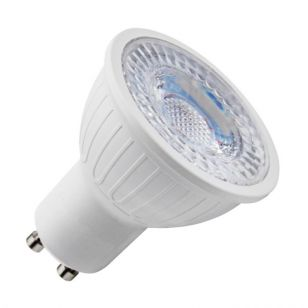 Lyco 5W Cool White Dimmable LED GU10 Bulb - Flood Beam
