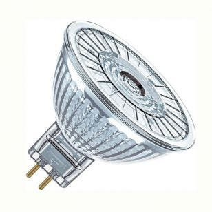 Osram 3.4W Warm White Dimmable LED MR16 Bulb - Flood Beam