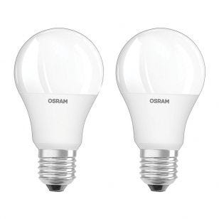 Osram 9W Colour Changing Dimmable LED Remote Controlled GLS Bulbs  - Screw Cap - Pack of 2 with Remote