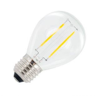 Integral 2W Warm White LED Decorative Filament Golf Ball Bulb - Screw Cap