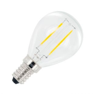 Integral 2.8W Warm White LED Decorative Filament Golf Ball Bulb - Small Screw Cap