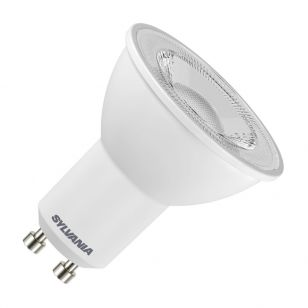 Sylvania 7W Warm White LED GU10 Bulb - Flood Beam