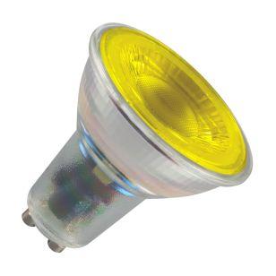 Crompton 4.5W Yellow LED GU10 Bulb - Flood Beam