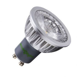 Envirolight 5W Warm White COB LED GU10 Bulb - Flood Beam