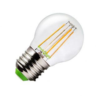 Envirolight 4W Warm White LED Decorative Filament Golfball Bulb - Screw Cap
