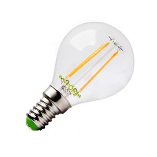 Envirolight 4W Warm White LED Decorative Filament Golfball Bulb - Small Screw Cap