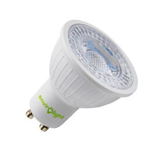 Envirolight 3W Cool White LED GU10 Bulb  - Flood Beam