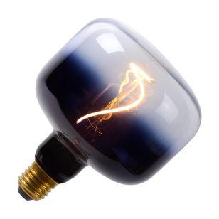 4W Very Warm White Dimmable LED Black Decorative Filament Globe Bulb  - Screw Cap